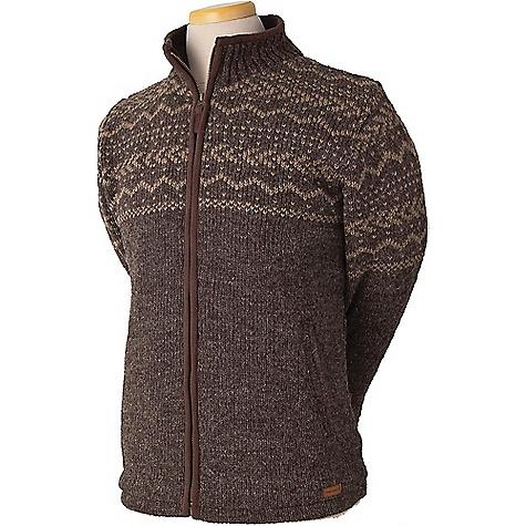 Laundromat Men's Yukon Fleece Lined Sweater Dark Natural
