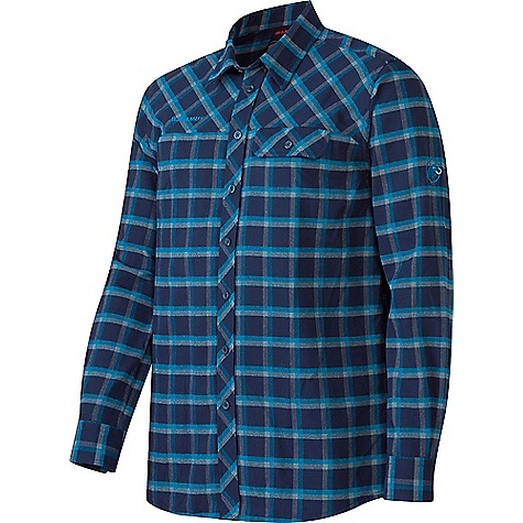 Mammut Men's Trovat Advanced Longsleeve Shirt Marine / Atlantic