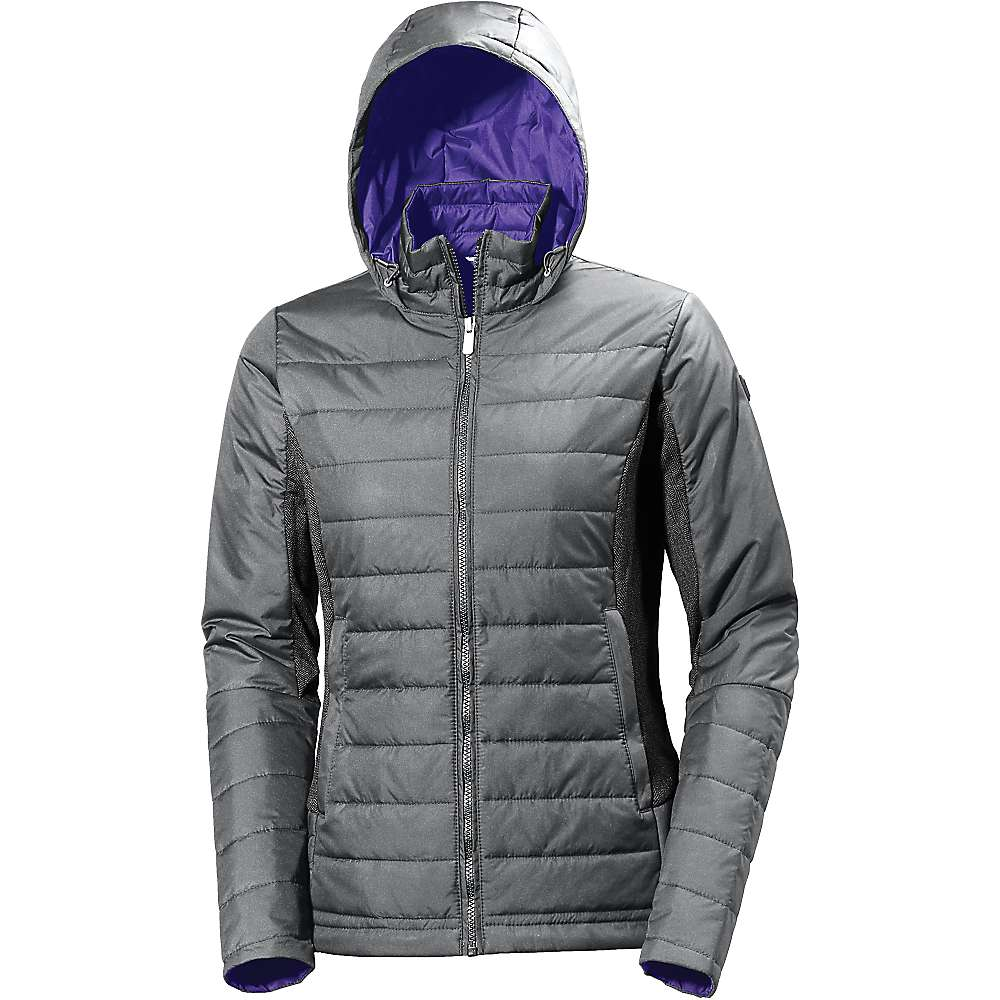 Helly Hansen Women's Astra Hooded Jacket - Large - Rock