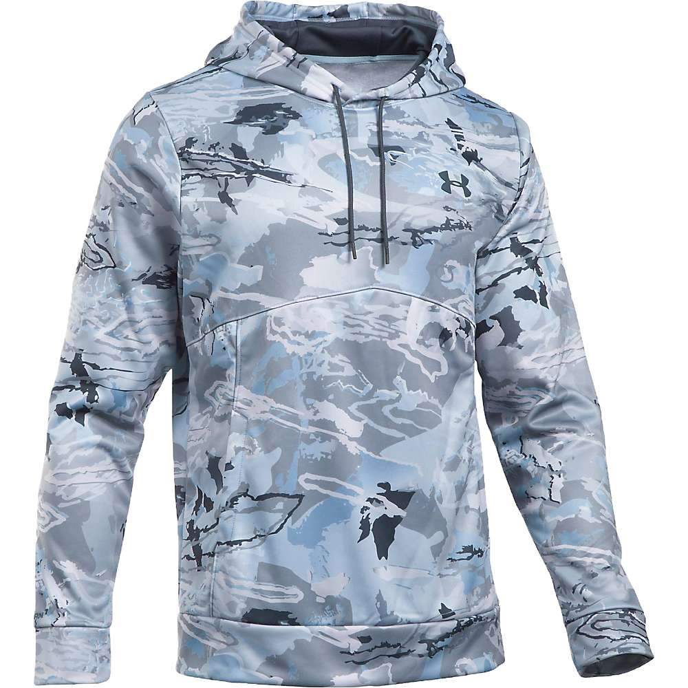 Under Armour Men's Icon Camo Hoodie - Small - Ridge Reaper Camo Hy / Stealth Grey