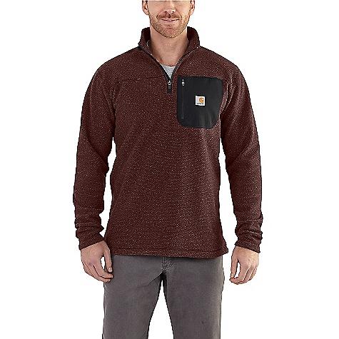 Carhartt Men's Walden Quarter Zip Sweater Fleece 102272-412