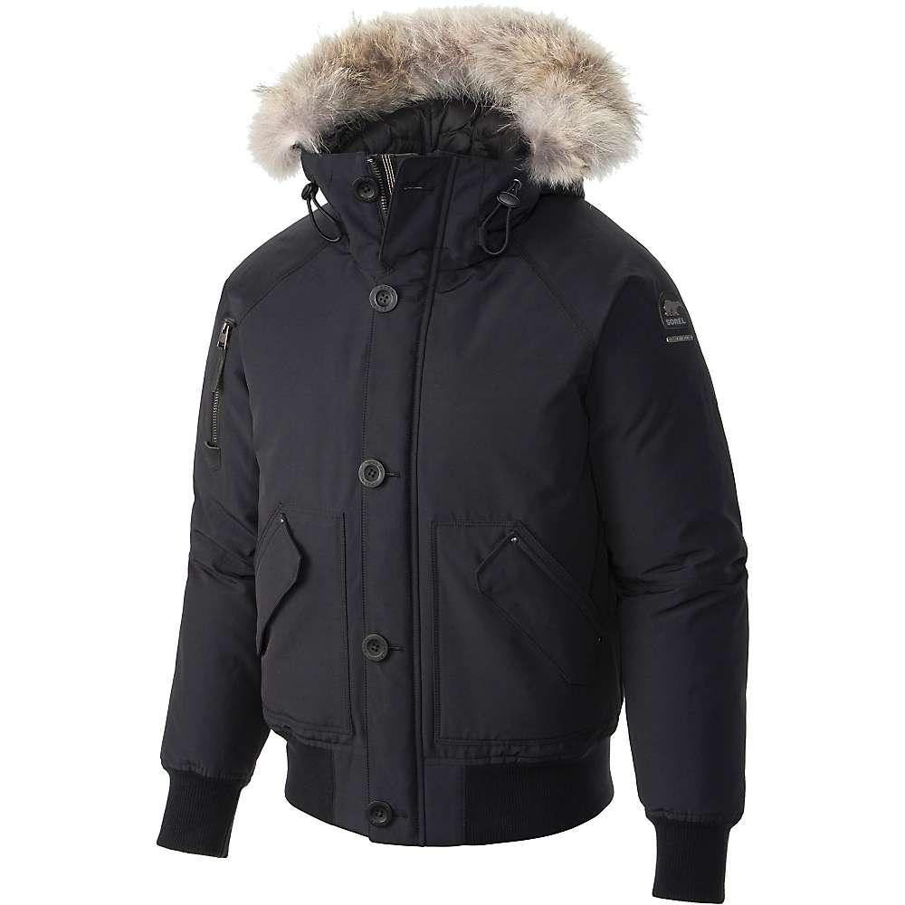 Sorel Men's Caribou Bomber Jacket - Large - Black