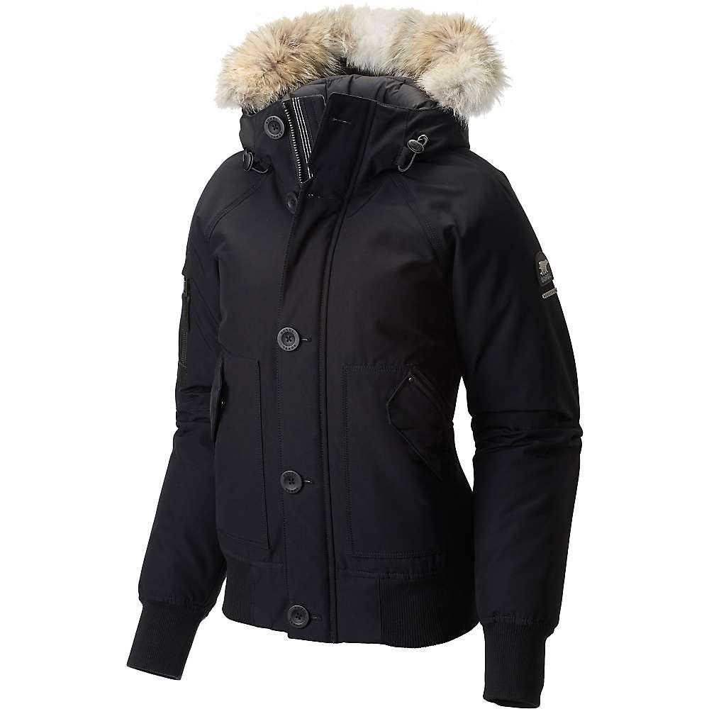 Sorel Women's Caribou Bomber Jacket - Large - Black