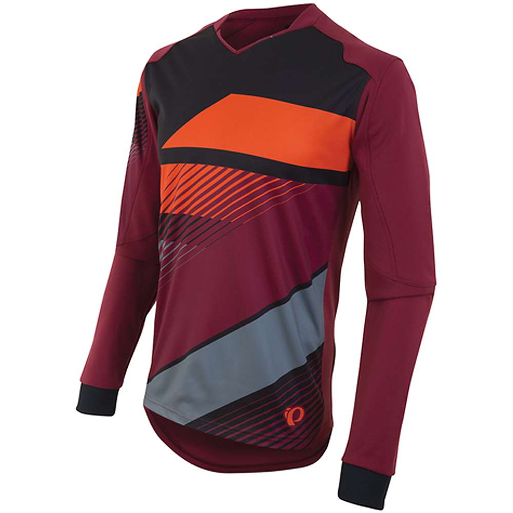 Pearl Izumi Men's Launch Thermal Jersey - Small - Tibetan Red