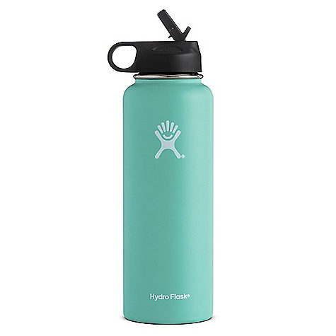Hydro Flask 40oz Wide Mouth Insulated Bottle with Straw Lid W40SW825