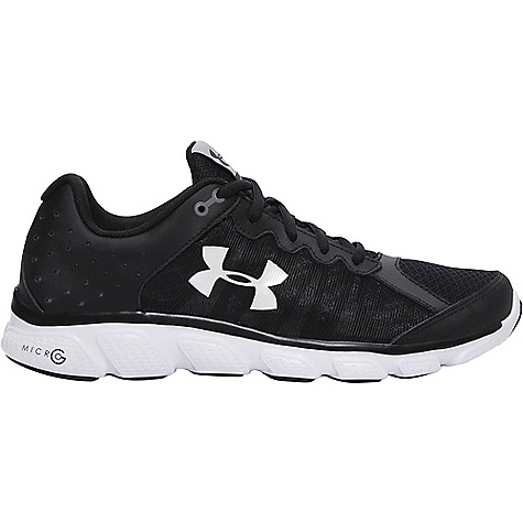 Under Armour Men's UA Micro G Assert 6 Shoe Black / White / White