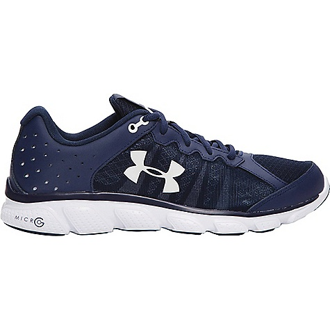 Under Armour Men's UA Micro G Assert 6 Shoe Midnight Navy / White / White