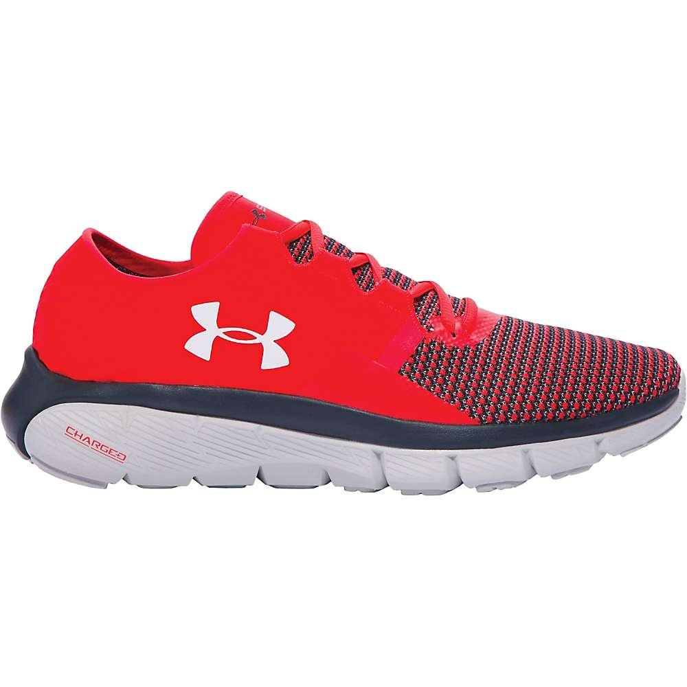 Under Armour Men's UA Speedform Fortis 2 Shoe - 10.5 - Rocket Red / Glacier Gray / Overcast Gray