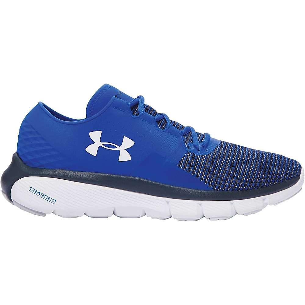 Under Armour Men's UA Speedform Fortis 2 Shoe - 9.5 - Ultra Blue / White / Glacier Gray