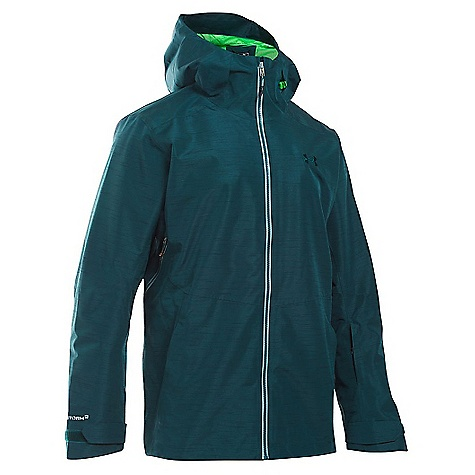 Under Armour Men's UA ColdGear Infrared Haines Shell Jacket Nova Teal / Northern Lights / Overcast Grey