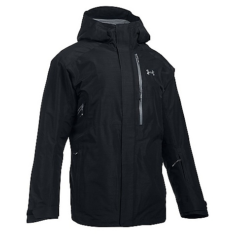 Under Armour Men's UA ColdGear Infrared Revy Insulated Jacket Black / Overcast Grey / Stealth Grey
