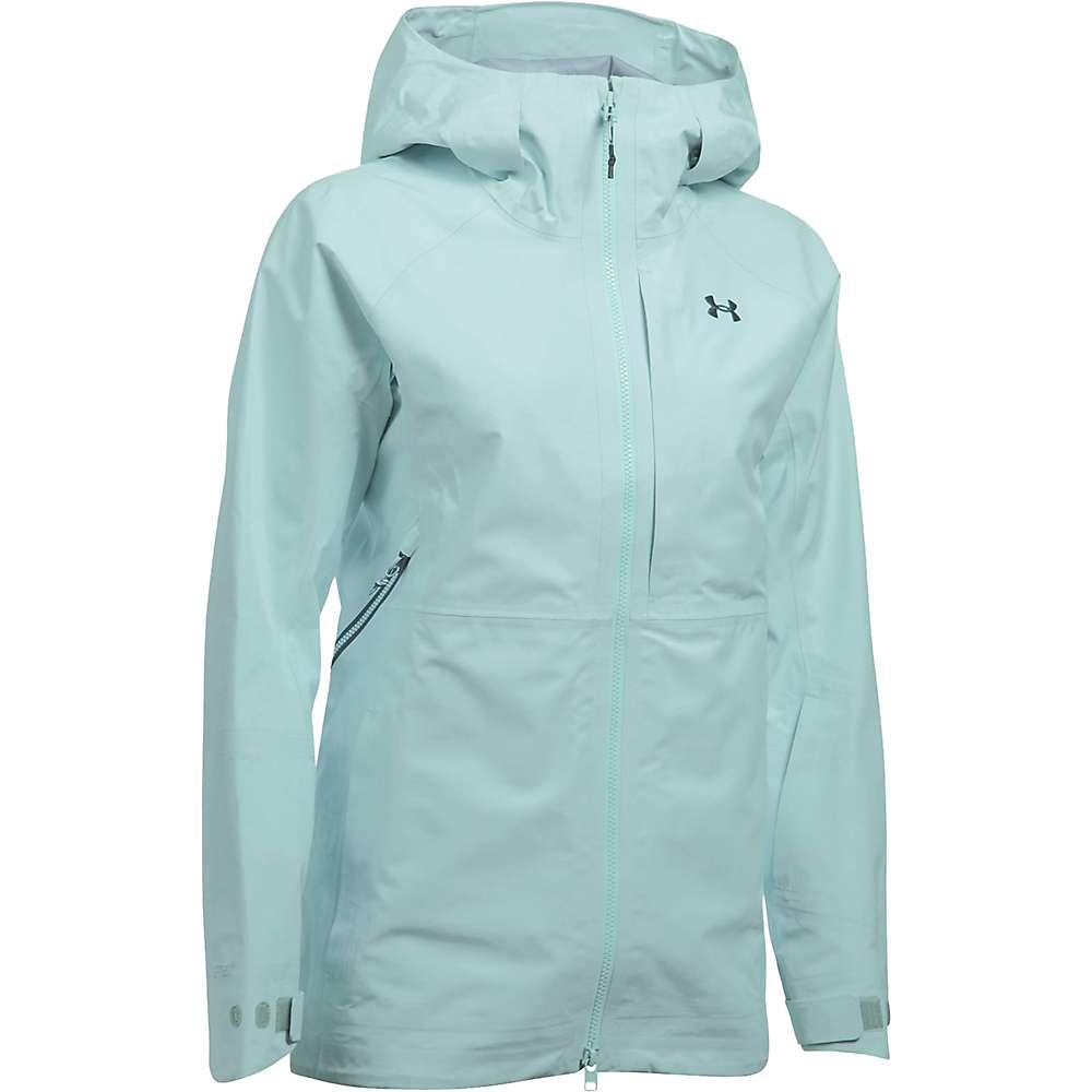 Under Armour Women's UA Chugach GTX Jacket - XL - Aqua Falls / Opal Green / Nova Teal