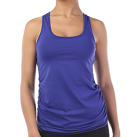Vimmia Women's Edge Racer Back Tank Top Ultramarine / Black