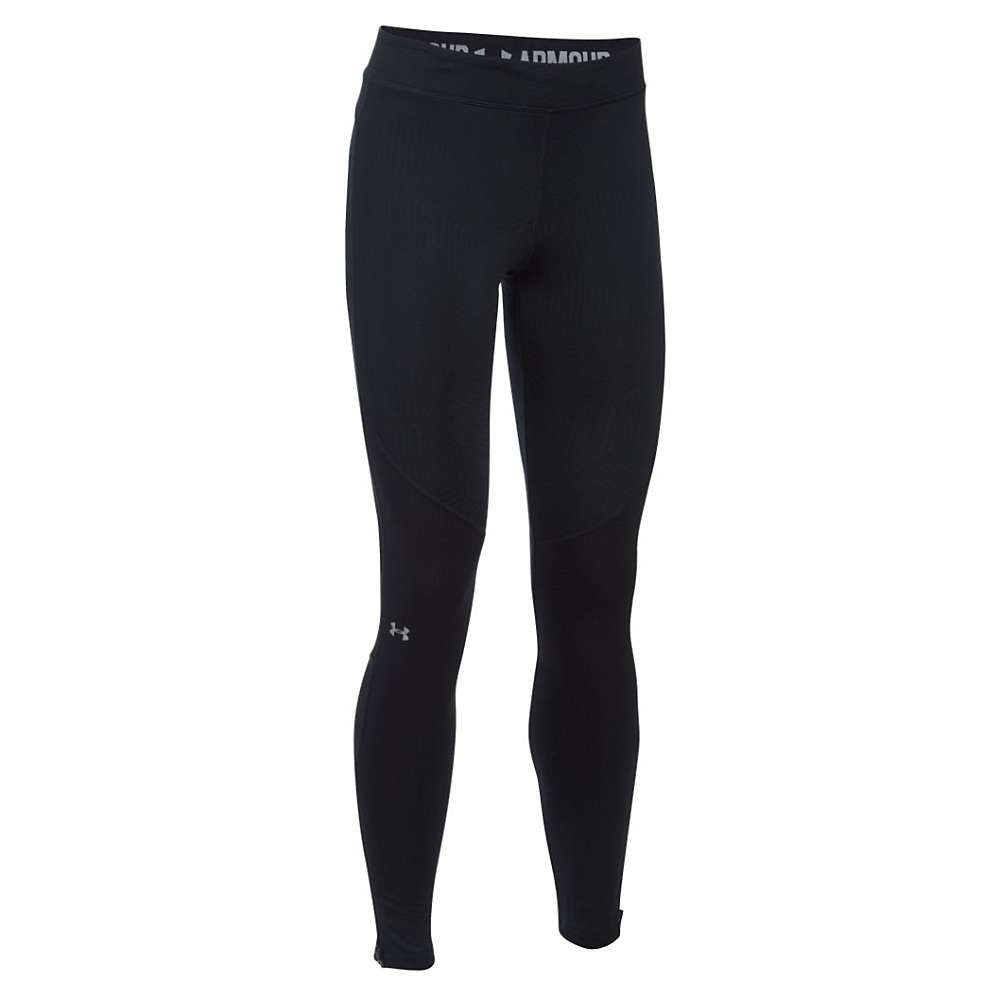 Under Armour Women's ColdGear Armour Elements Legging - Large - Black / Reflective