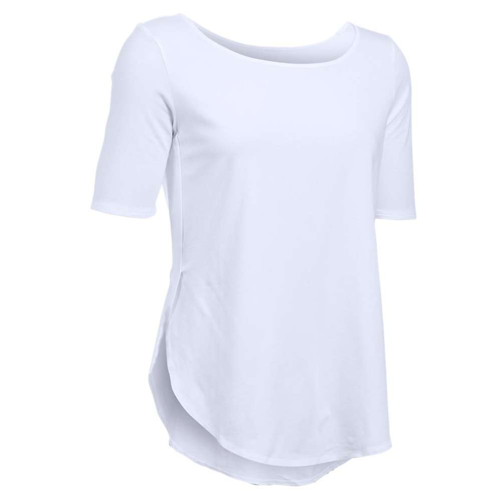 Under Armour Women's Essential Demi Tee - Small - White / Elemental