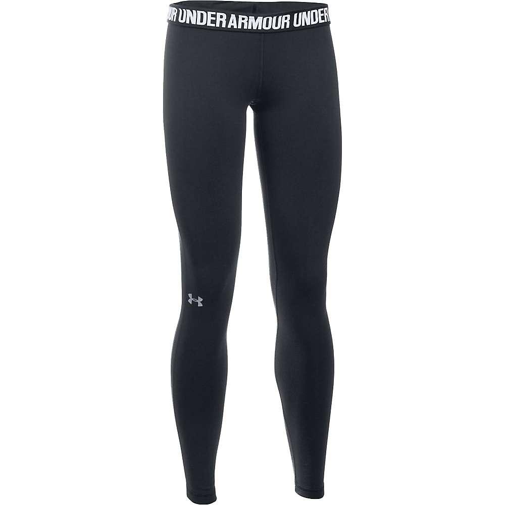 Under Armour Women's UA Favorite Solid Legging - XL Short - Black / Black / Metallic Silver
