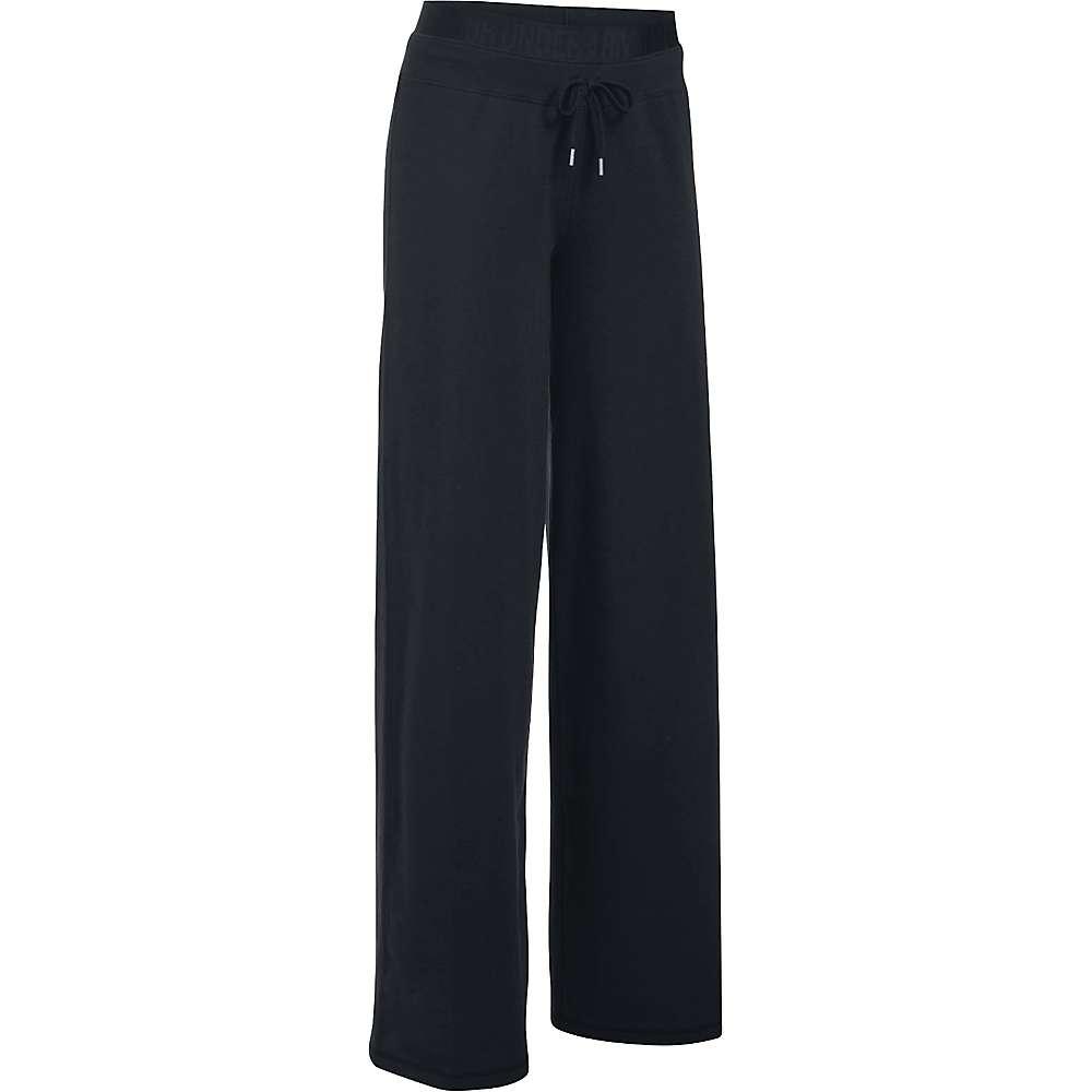 Under Armour Women's Favorite Wide Leg Pant - XS - Black / Black