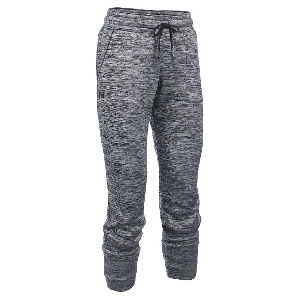 Under Armour Women's Lightweight Storm Armour Fleece Twist Jogger Pant - Small - Black / Black / Black