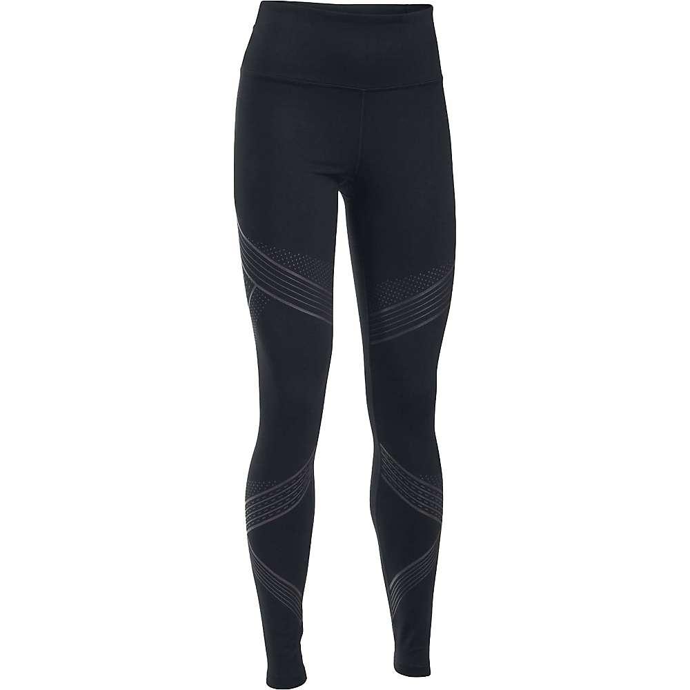 Under Armour Women's Mirror Hi Rise Luminous Legging - XL - Black / Gray Area