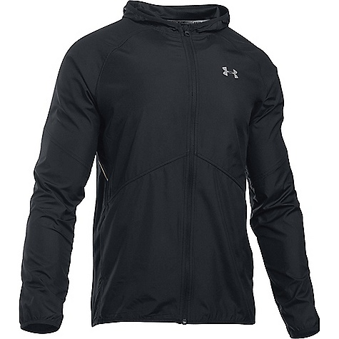Under Armour Men's NoBreaks Storm 1 Jacket Black / Black / Reflective