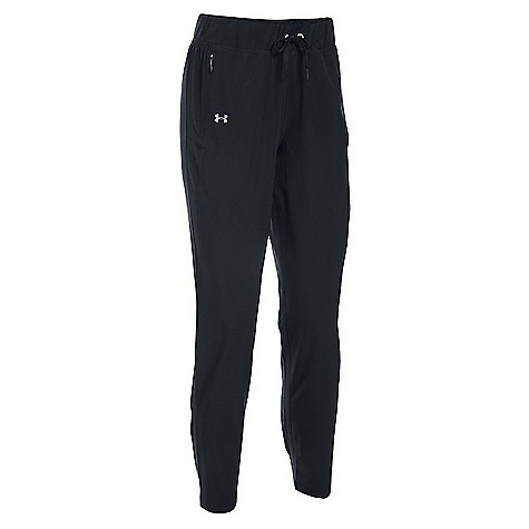 Under Armour Women's Run True Pant Black / Reflective