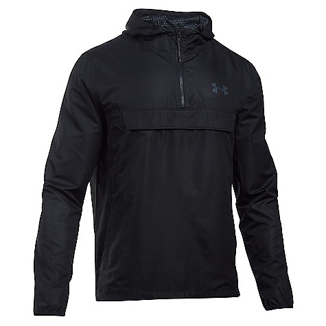 Under Armour Men's Sportstyle Anorak Jacket Black / Black / Stealth Gray