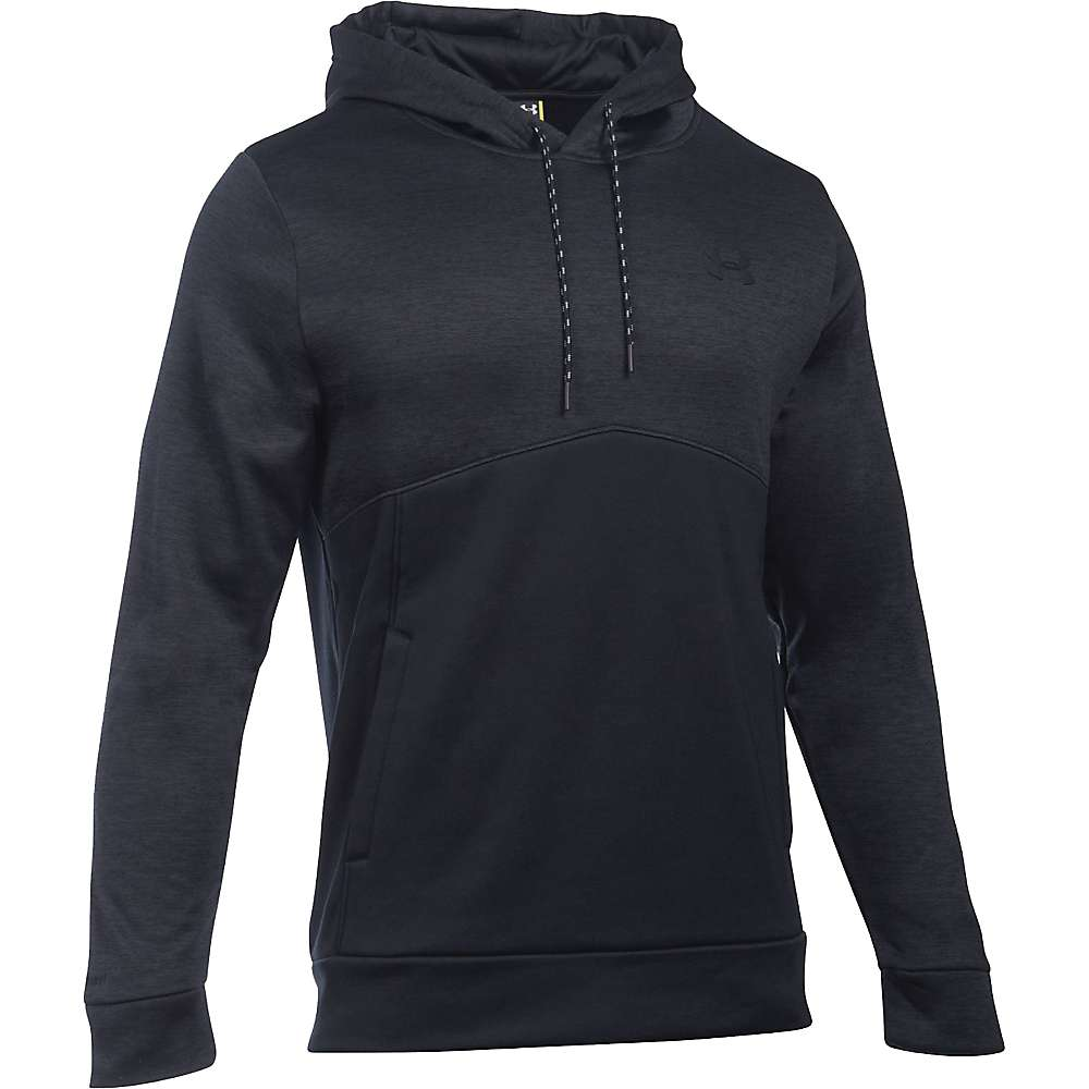 Under Armour Men's Storm Armour Fleece Icon Twist Hoodie - Small - Black / Black / Black