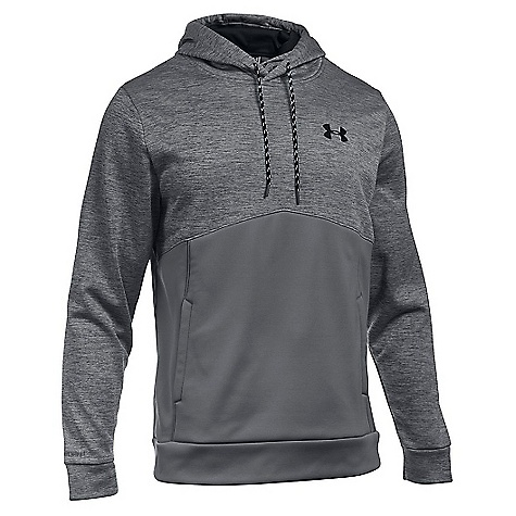 Under Armour Men's Storm Armour Fleece Icon Twist Hoodie Graphite / Black / Black