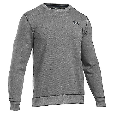 Under Armour Men's Storm Rival Cotton Crew Neck Top Black / Black
