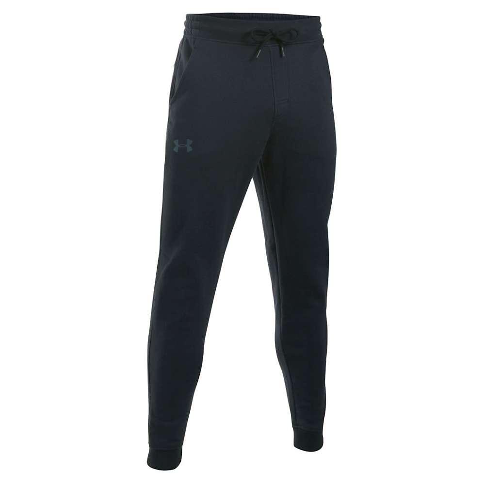 Under Armour Men's Storm Rival Cotton Jogger Pant - XL - Black / Stealth Gray