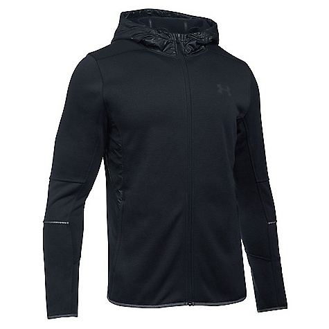 Under Armour Men's Swacket Full Zip Hoodie Black / Black / Black