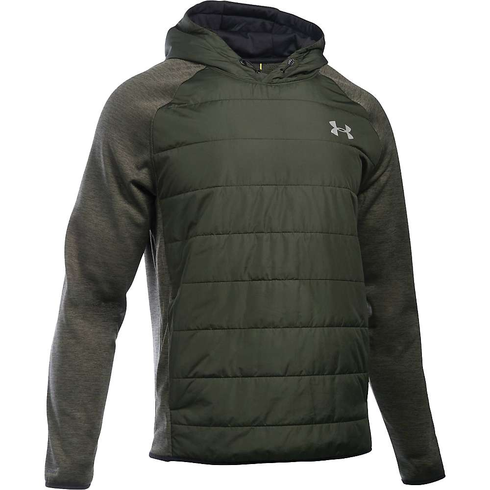Under Armour Men's Swacket Insulated Popover Hoodie - Small - Artillery Green / Artillery Green / Silver