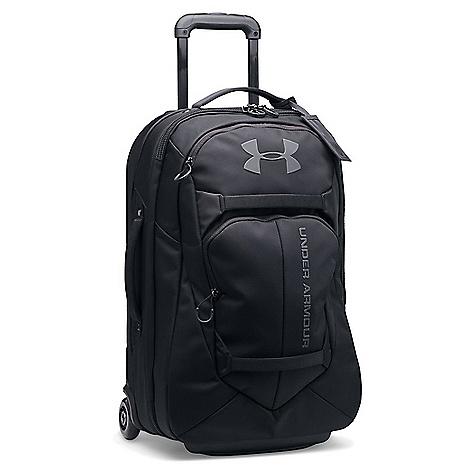 Under Armour UA AT Carry-On Rolling Bag Black / Black / Black