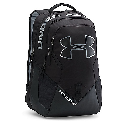 Under Armour UA Big Logo IV Backpack Black / Black / Silver