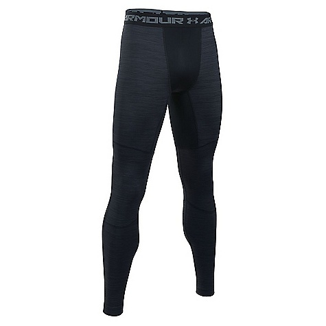 Under Armour Men's UA ColdGear Armour Twist Legging Black / Steel