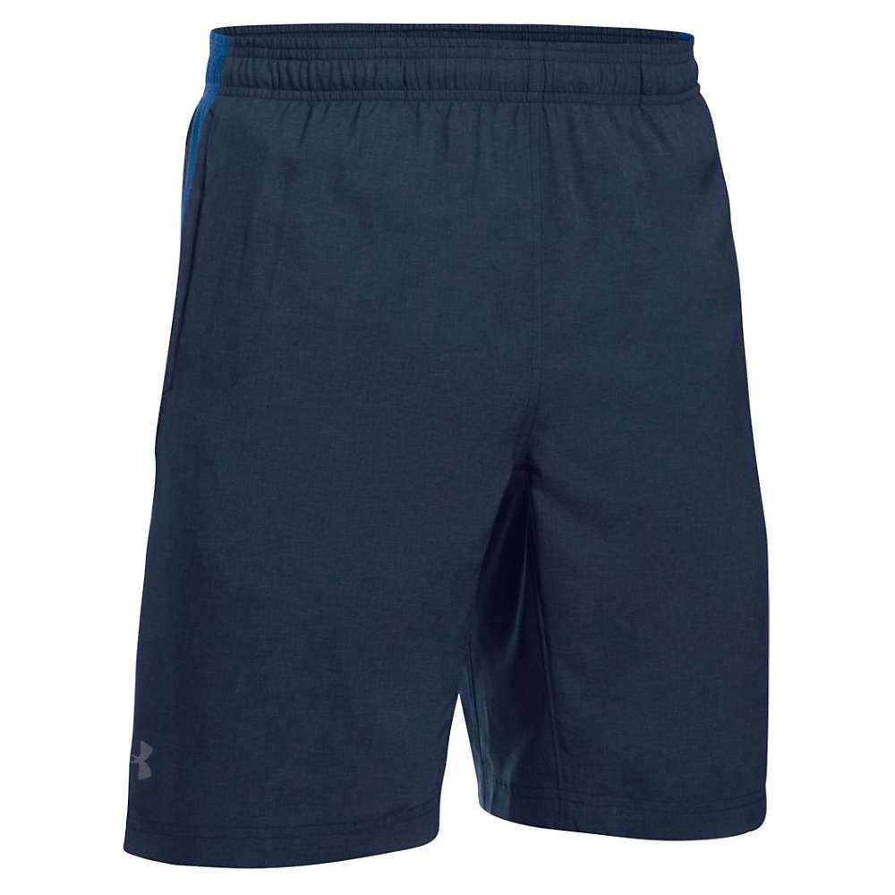 Under Armour Men's UA Launch 9IN Novelty Short - Small - Midnight Navy / Ultra Blue / Reflective