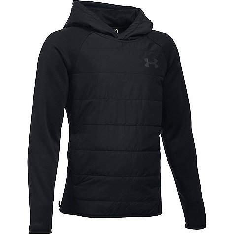 Under Armour Boys' UA Swacket Insulated Hoody Black / Black / Black