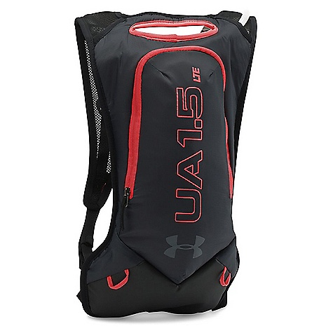 Under Armour UA Trail Hydration Pack Black / Rocket Red / Lead