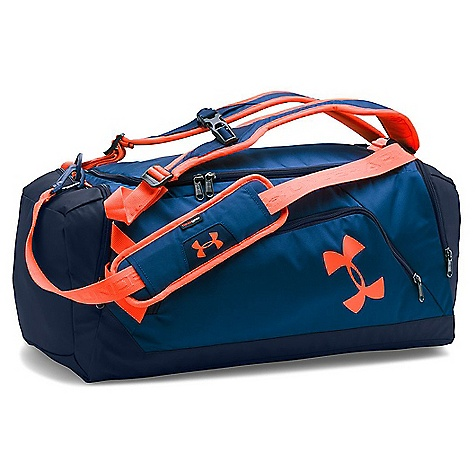 Under Armour UA Undeniable Backpack Duffel Fire / Midnight Navy / Black