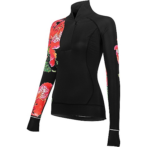 Shebeest Women's Chill Factor Jersey Black / Flamboyant