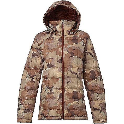 Burton Women's [ak] Baker Down Insulator Jacket Storm Camo