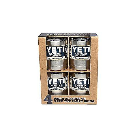 YETI Rambler Lowball 4-Pack YRAM10P