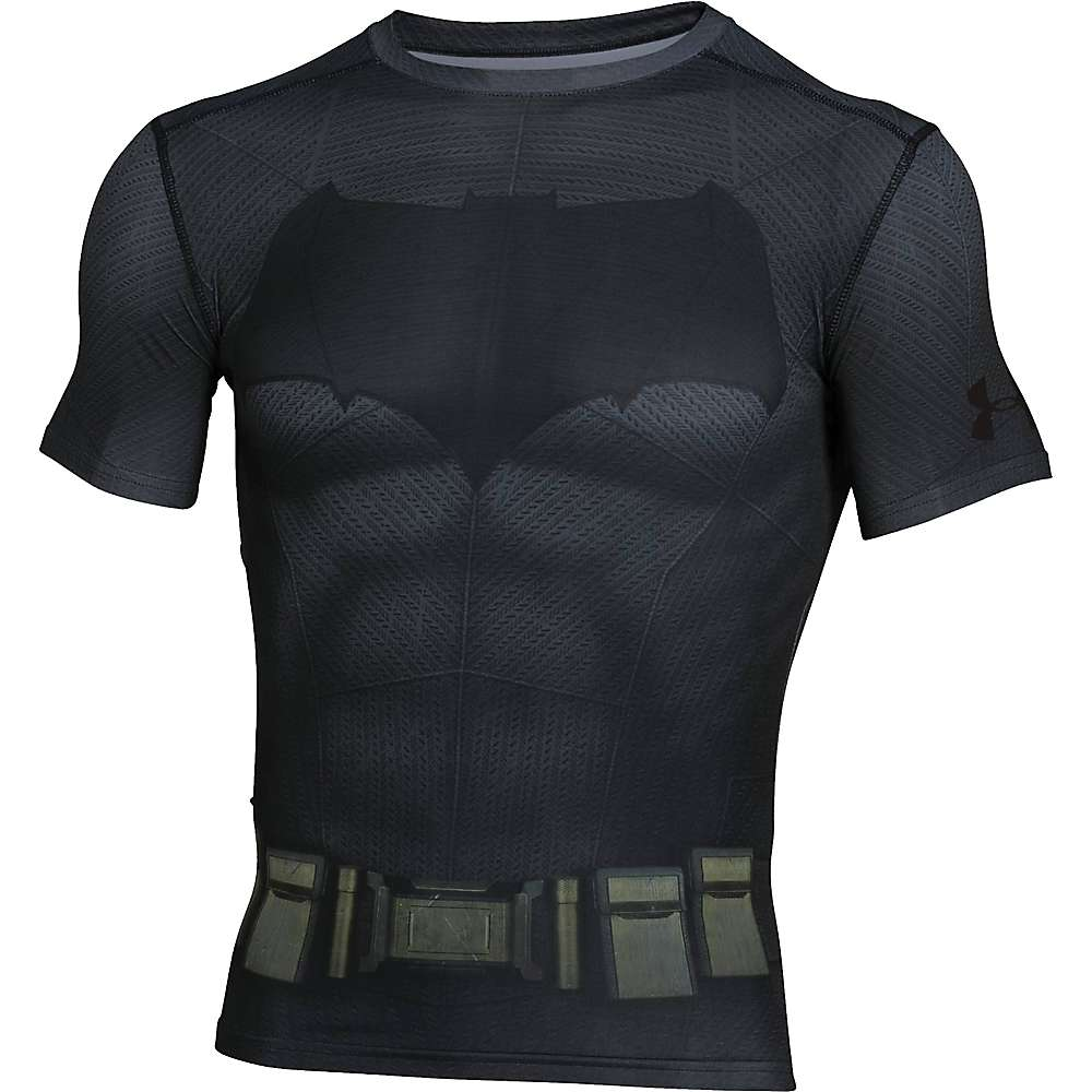 Under Armour Men's Batman Suit SS Tee - XXL - Graphite / Black