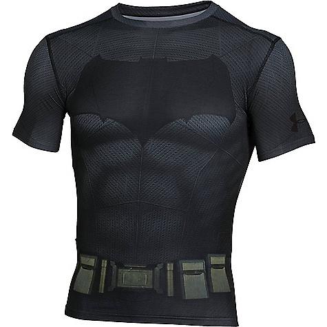 Under Armour Men's Batman Suit SS Tee Graphite / Black