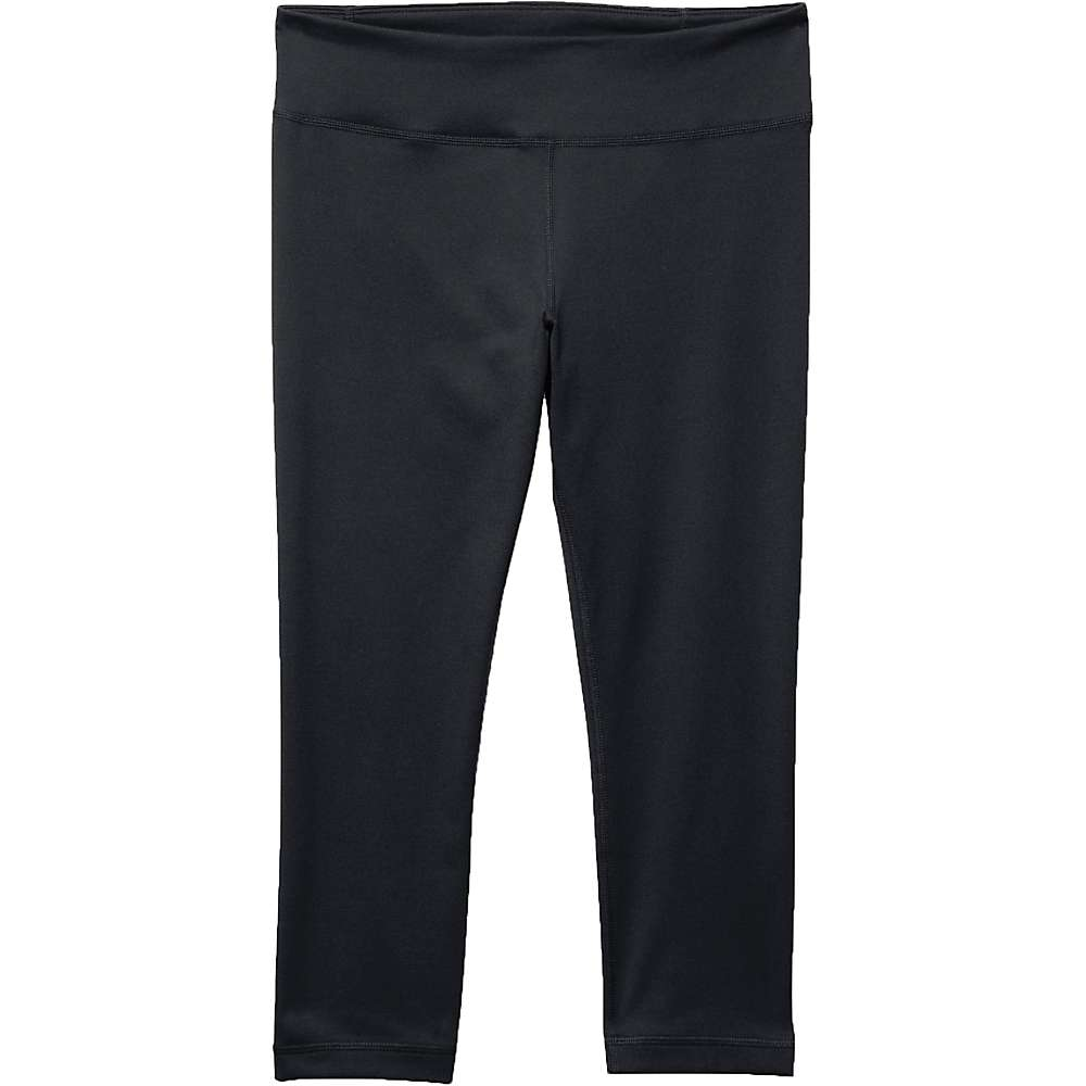 Under Armour Women's MIrror Capri - XS - Black / Silver