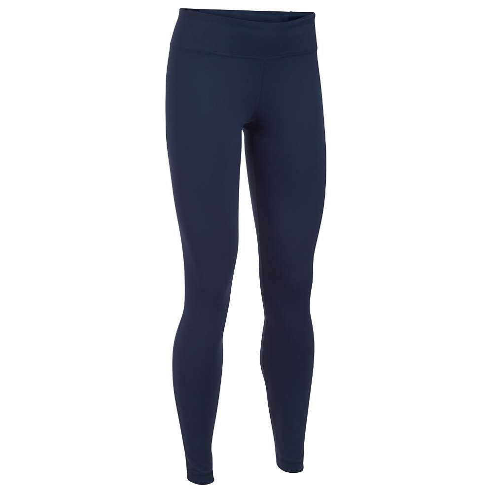 Under Armour Women's Mirror Legging - XXL - Midnight Navy / Carbon Heather