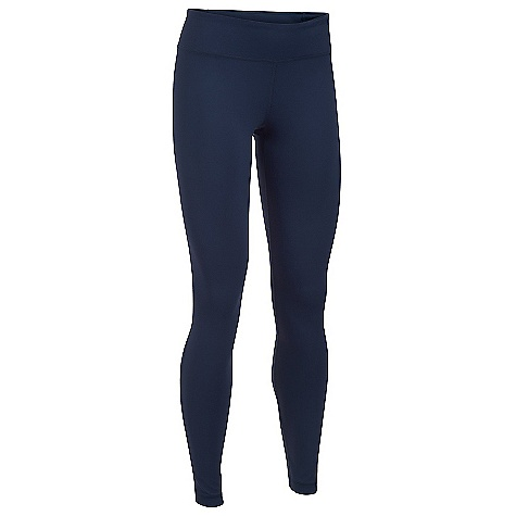 Under Armour Women's Mirror Legging Midnight Navy / Carbon Heather