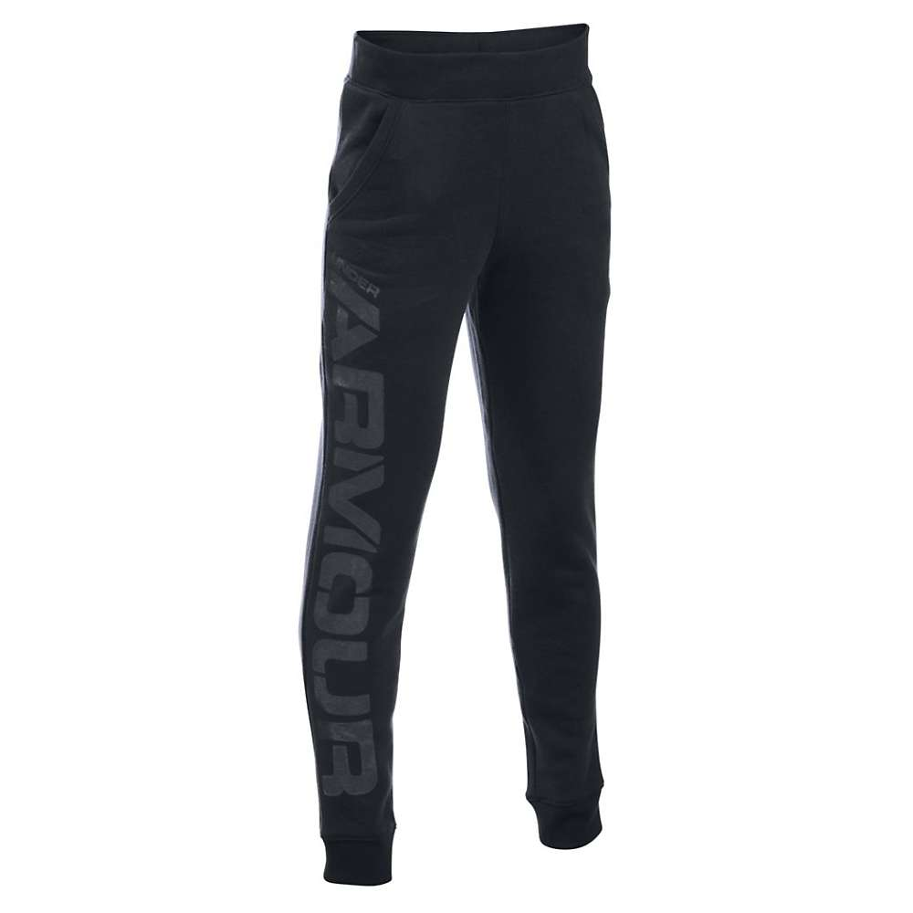Under Armour Boys' Sportstyle Jogger Pant - XL - Black / Graphite