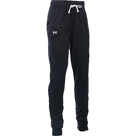 Under Armour Girls' Tech Jogger Black / White