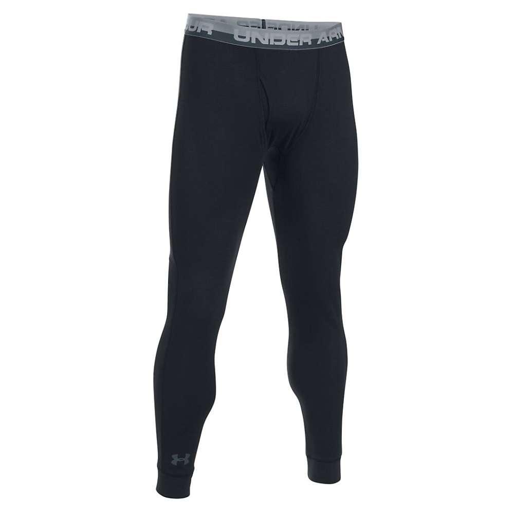 Under Armour Men's Thermal Legging - XL - Black / Stealth Gray